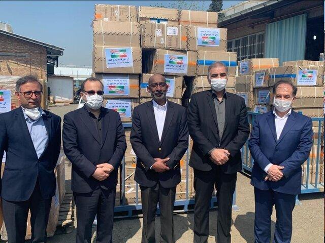سفارت هند از ارسال تجهیزات پزشکی به تهران اطلاع داد