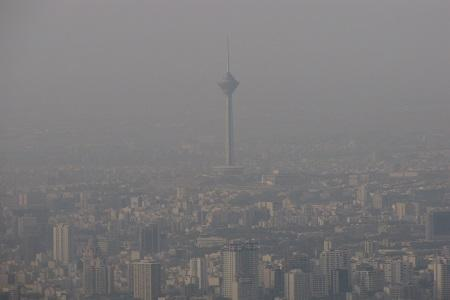 هوای بیشتر مناطق پایتخت برای گروه های حساس ناسالم است