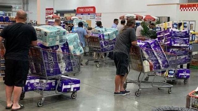 خبرنگاران کرونا و رشد قیمت اقلام مصرفی در آمریکا