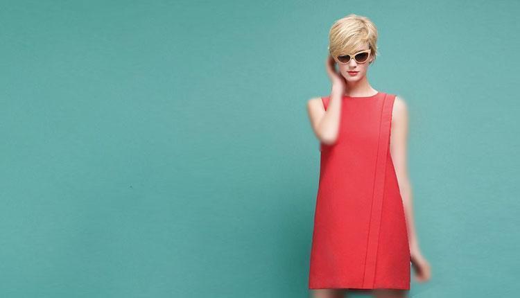 30 مدل لباس مجلسی مرجانی برای رنگ پوست های مختلف