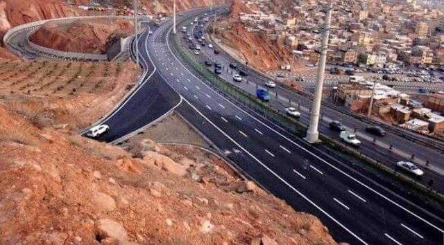 برخی مسیرهای اتوبان پاسداران تبریز فردا مسدود می شود